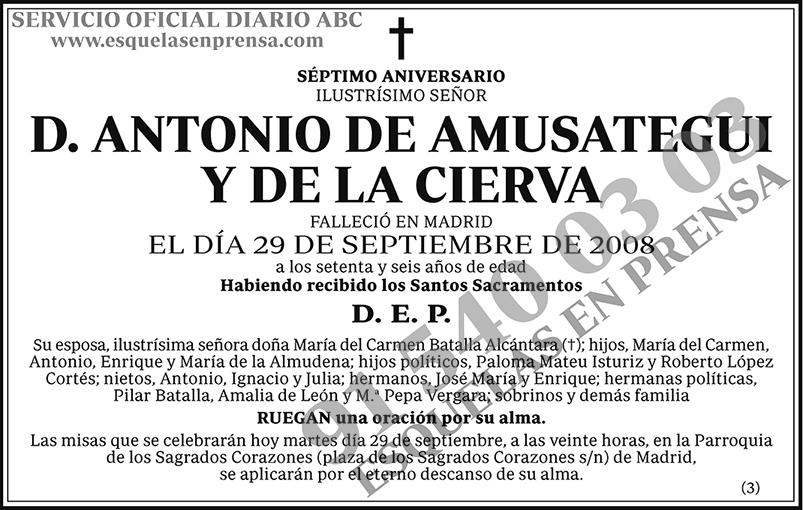 Antonio de Amusategui y de la Cierva